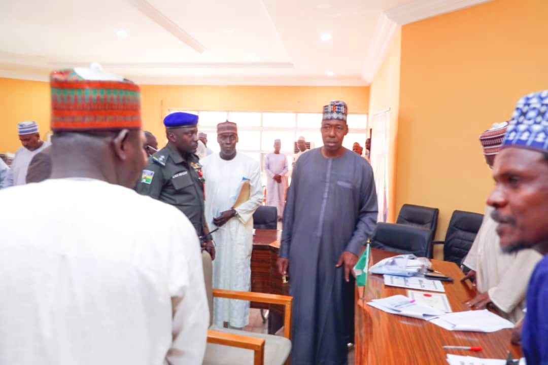 Zulum appears at teachers verification venue, says unqualified teachers not acceptable