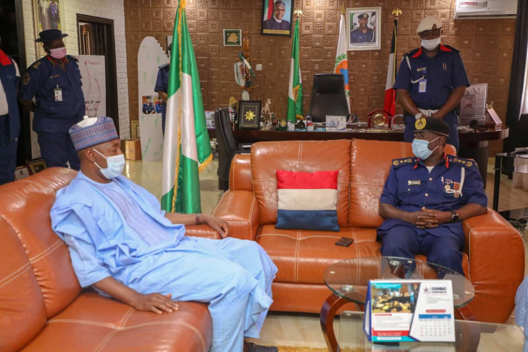 NSCDC boss to Zulum: 'Borno most active on agro rangers' … Lauds Governor over 15 vehicles