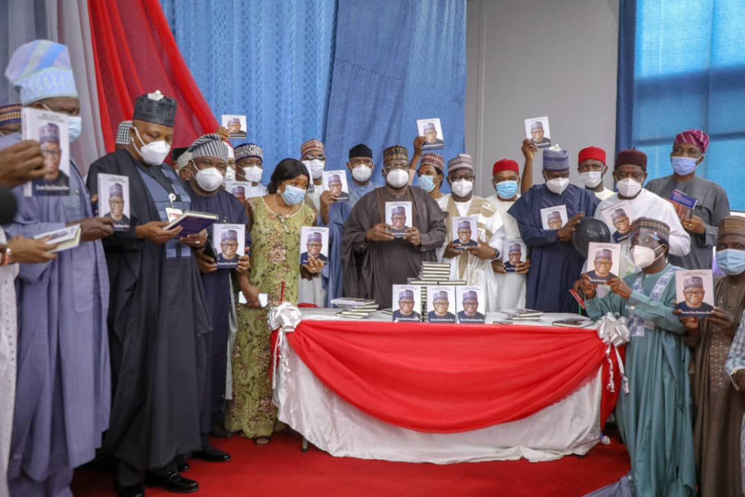 Senate President, principal officers grace book launch reviewed by Prof Zulum